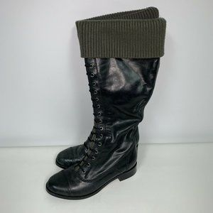Cole Haan Nikeair Whitley Leather Riding Boot 6.5